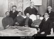 Eesti Töörahva Kommuuni Nõukogu liikmed. 1918 - 1919 Rida 1 (vasakult): 2. Jaan Anvelt, 3. Otto Rästas, 4. Maks Trakmann, 5. Mühlberg.  Rida 2 (vasakult): 1. Hans Pöögelman, 2. Johannes Käspert, 3. Artur Valner. - EFA