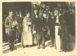 Piiskop H. B. Rahamäe ametisse õnnistamine 1934: G. Jonson, E. Eidem, K. Päts, J. Masing, H. B. Rahamägi - KM EKLA
