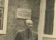 Rudolf Sirge Jaan Kärneri mälestustahvli avamisel 27. V 1961 - KM EKLA
