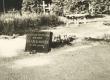 Mälestustahvel Jaan Kärneri haual Elva kalmistul 14. mail 1960. a - KM EKLA