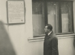 J. Kärneri mälestustahvel Tartus, V. Kingissepa tän. 59 25. sept. 1966 - KM EKLA