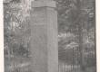 Jakob Tamm'e mälestussammas Väike-Maarja surnuaial - KM EKLA