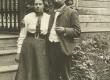 August ja Johanna Kitzbergid Pöögles 1906. a. - KM EKLA