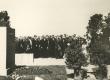 F. Tuglas A. Kitzbergi mälestussamba avamisel kõnelemas - KM EKLA