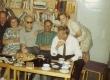 Vasakult: Jaan Kross, Kersti Merilaas, August Sang, Paul Rummo, Uno Laht, Ellen Niit 30.07.1968 - KM EKLA