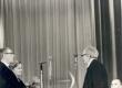 Fr. Tuglase 80. sünnipäev 1966. J. Smuul, E. Niit, Fr. Tuglas, P. Rummo - KM EKLA