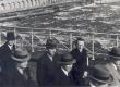 Kirjanike ekskursioon mööda Eestit 1938. a. Narva sillal - KM EKLA