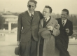 Vasakult: A. Antson, P. Viiding, Julius Oengo - KM EKLA