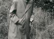 Fr. Tuglas Ahja Keskmise järve tammil 1963. a. - KM EKLA