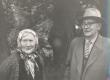 Fr. Tuglas oma lapsepõlvekaaslase H. Avvus'ega Ahjal 1963. a. - KM EKLA