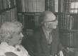 Elo ja Friedebert Tuglas kodus 6. VI 1963. a. - KM EKLA