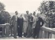 Ed. Hubel ja B. Kangro läti ajakirjanikega Riias VI 1939 - KM EKLA