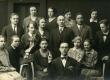 Grupp tudengeid (sh V. Adams) Johannes Adamsoniga - KM EKLA