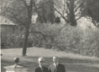 Karl Ristikivi ja R. - P. Keer 1966. a. Sigtunas - KM EKLA