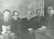 K. Ristikivi, A. Mägi, E. Laid, V. Uibopuu, R. Jalakas 1946 - KM EKLA