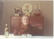 Johannes Aavik oma kodus Stockholmis 1972. kevadel - KM EKLA