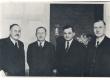 Bernhard Linde, A. H. Tammsaare, Juhan Parts ja Karl Anton - KM EKLA
