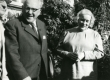 (Mart Lepik), Julius Mägiste ja Betti Alver Koidula tn 8 aias 20. aug. 1970 - KM EKLA