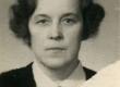 Betti Alver 1940-tel, dokumendifoto - KM EKLA
