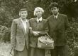 Betti Alver, Elo Tuglas ja Aadu Hint Ahjal, 12. sept. 1955. a. - KM EKLA