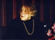 Betti Alver oma juubeliõhtul 27. XI 1981 Tartu Kirjanike Majas - KM EKLA