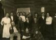 """ENKS Tütarlaste Gümnaasiumi näitetrupp A. Kitzbergi etenduses """"Püve talus"""" 20. dets. 1923 - KM EKLA"""
