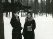Betti Alver tundmatuga Toomel [1920/1930] - KM EKLA