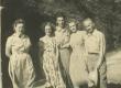 Vas.: Leili, Iris, Orvo, Helga ja Karl Ast Brasiilias - KM EKLA