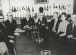 I. Jaks, V. Uibopuu, K. Lepik, A. Mägi, A. Mälk, H. Mäelo, B. Kangro, H. Nõu, K. Ristikivi, ja R. Kolk EKK koosolekul u 1961 - KM EKLA