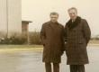 Ives Bonnefoy ja Aleksander Aspel 1967. a. dets. Iowa City lennuväljal. - KM EKLA