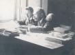 Enno, Ernst (vasakul) ja K. E. Sööt Tartus 1905 - KM EKLA