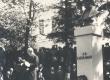 Fr. R. Faehlmanni mälestussamba avamine Tartu Toomemäel - KM EKLA