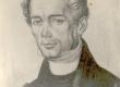Fr. R. Faehlmann, kirjanik, keeleteadlane. N. Triik, söejoonis 1929 - KM EKLA