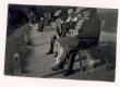 K. E. Sööt Soome külalise Vuorisega Tartu Toomeoru serval tennisemängu vaatamas. Nendega kaasas pr. Keldt ja prl. Kupfer. Mag. phil. El. Pässi foto 22. VIII 1929 - KM EKLA