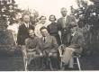 1939. a. suvel Pärnus insener Isaku perekonnas. Muude seas dr. J. Kukk, K. E. Sööt ja dr. phil. J. Fazekas - KM EKLA