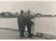 Karl Eduard Sööt ja dr. J. Fazekas Haapsalu supelrannas, 12. VII 1939 - KM EKLA