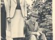 K. E. Sööt koos tundmatu naisega Kärdlas Tiigi tn. 13. Õpet. pr. L. Kaalu foto 15. VII 1939 - KM EKLA