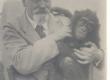Hindrey, Karl August ahviga Aafrika sõidu ajal laeval - KM EKLA