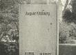 A. Kitzbergi hauasammas Tartu kalmistul enne 1952. a. - KM EKLA