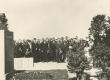 Aug. Kitzbergi mälestusmonumendi avamine. Kõneleb Fr. Tuglas  - KM EKLA