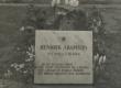 Hendrik Adamsoni haud Helme kalmistul (pärast korrastamist) - KM EKLA