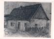 Bornhöhe, Eduard pliiatsijoonis (Elukoht Kaunases)  - KM EKLA