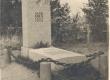 Jaan Oks'a matusepaik Tallinnas Rahumäe kalmistul - KM EKLA