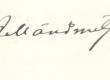 J. Mändmets'a allkiri 22. IV 1927 - KM EKLA
