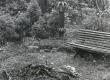 Nurgake aiast F. Tuglase viimases elukohas Tallinnas, Väikse Illimari 12. 1974. a. - KM EKLA