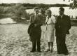 Karl Ristikivi, Maria Kangro, Bernhard Kangro 1945. a - KM EKLA