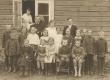 Hendrik Adamson oma õpilastega 1923. a. - KM EKLA