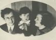 Mart Raud naise Lea ja poja Enoga - KM EKLA