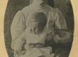 Marie Under tütar Dagmariga Kassaris [1904] - KM EKLA