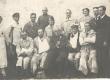 Dr. med. Eugen Jannsen 1921. a. Kuressaare Sanatooriumi patsientidega (sh. Joh. Semper) - KM EKLA